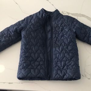 Old navy 3T jacket with heart quilting